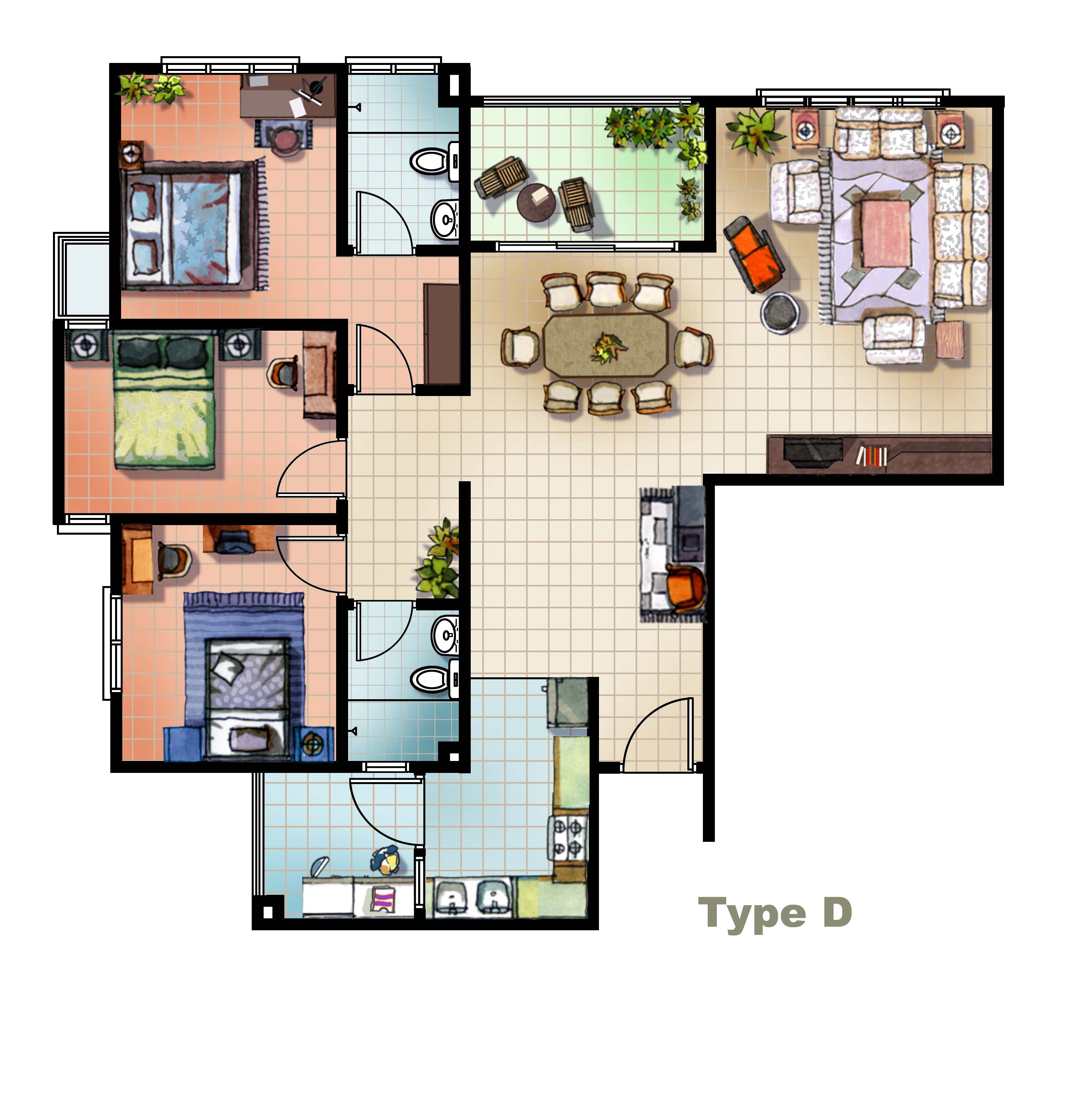 Magnificent Apartment Floor Plans Software 2742 x 2766 · 444 kB · jpeg